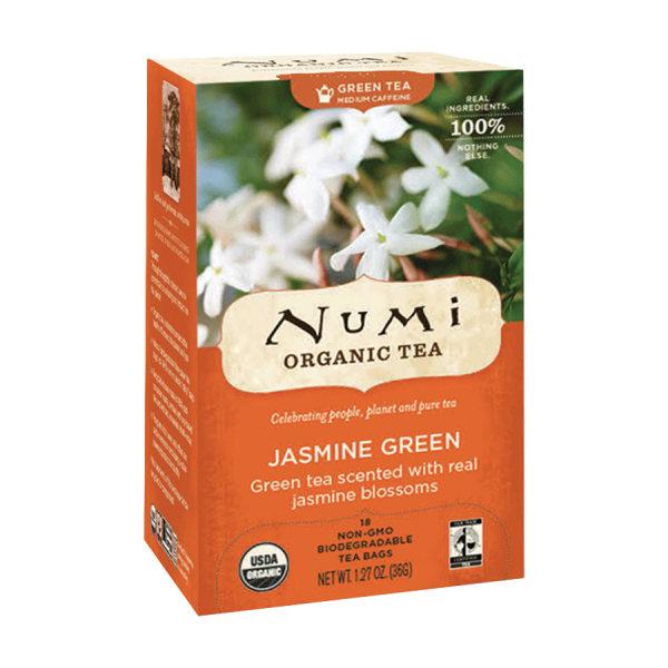Numi Tea Jasmine Green Tea (1x18 Bag)
