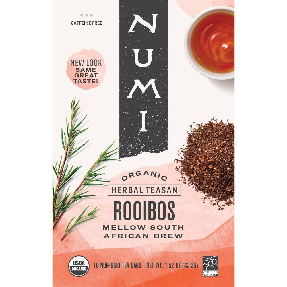 Numi Tea Rooibos Herb Herbal Tea (1x18 Bag)