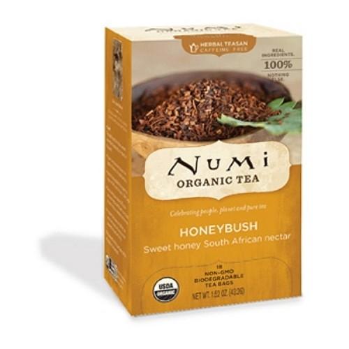 Numi Tea Honeybush Herbal Tea (1x18 Bag)