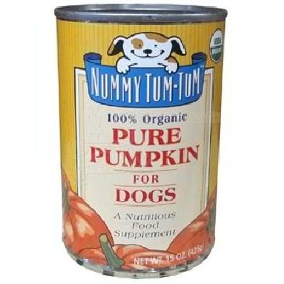 Nummy Tum-Tum Pure Pumpkin Dog Food (12x15OZ )