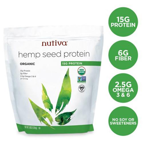 Nutiva Organic Hemp Protein 3 Lbs
