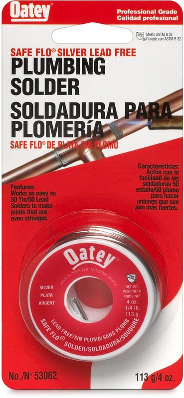 53062 .25LB SAFE FLO SOLDER