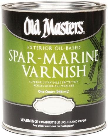 92301 1 Gallon Satin Spar Varnish