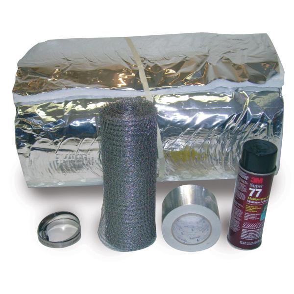 "5"" X 25' Super Wrap Insulation Kit - INK-525 - 1300-0020"