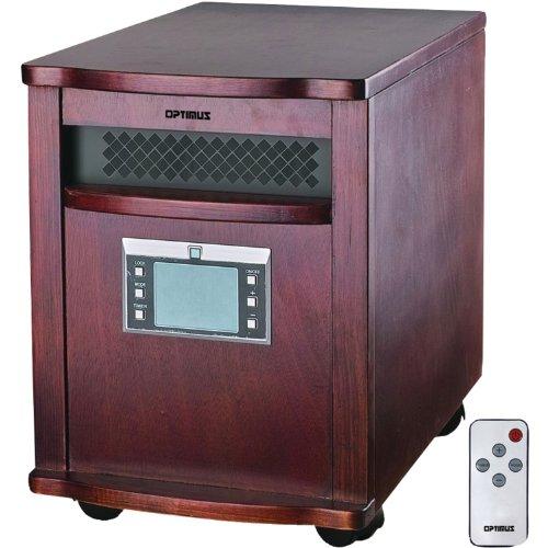 Optimus H8010 Heater Infrared Quartz With Remote