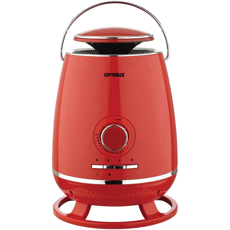 OPTIMUS H7231RD RED PORTABLE 360 SURROUND CERAMIC HEATER