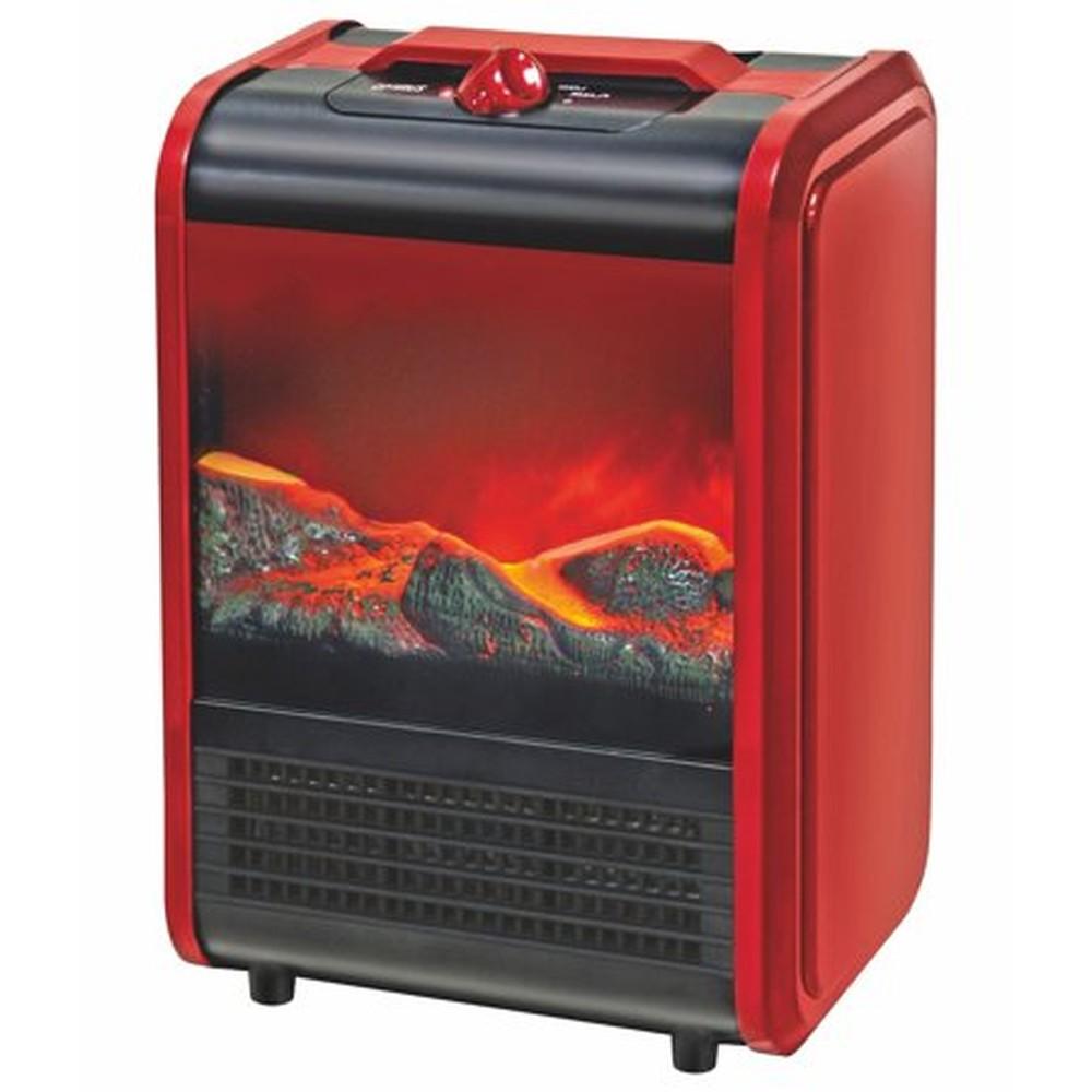 OPTIMUS H9300 ELECTRIC FLAME EFFECT MINI FIREPLACE HEATER