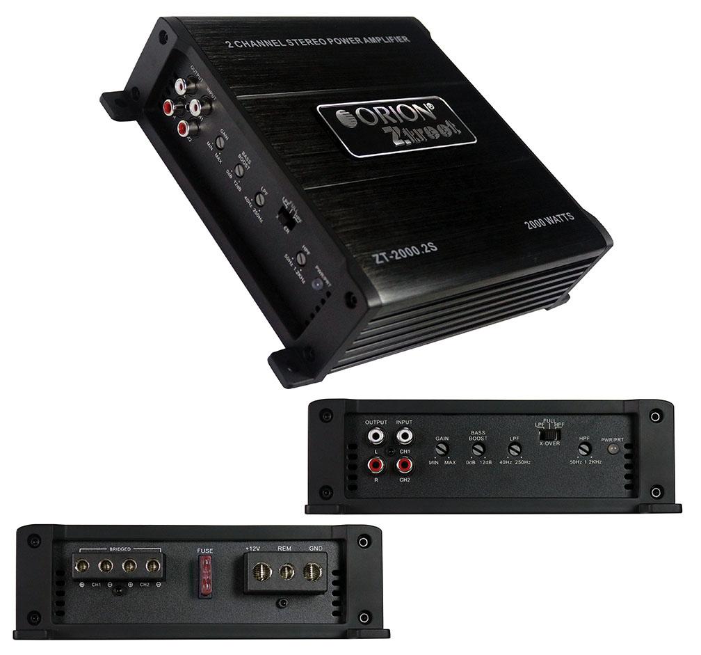 Orion Ztreet Amplifier 2000 Watt 2 Channel