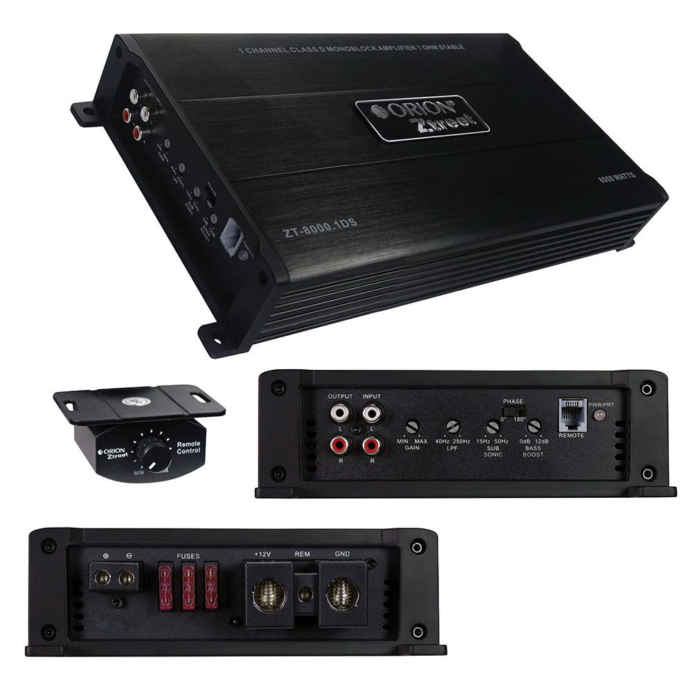 Orion Ztreet D Class Amplifier 8000 Watts