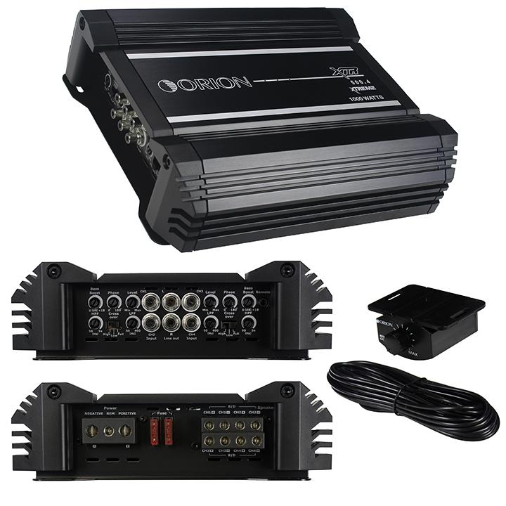 Orion XTR 4 Ch. Amplifier 2000 Watts