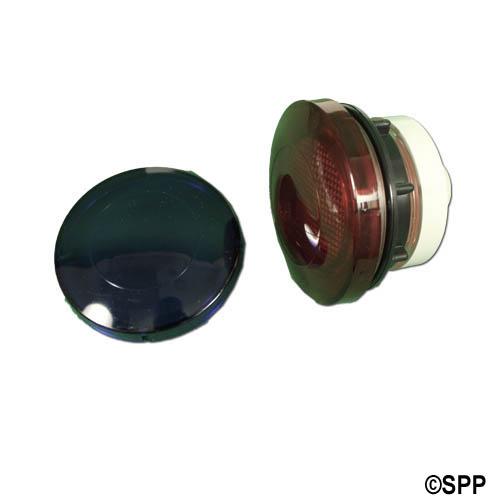 "Light Lens Kit, Oryan, Aquastar, Rear Access, 3-1/4""Face, 2-1/2""Hole"