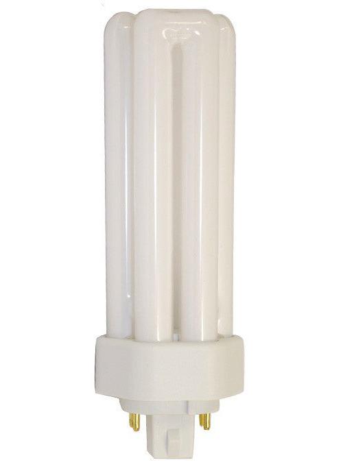 SYLVANIA DULUX� T/E/IN AMALGAM ECOLOGIC� COMPACT FLUORESCENT LAMP, T4, TRIPLE TUBE, 32 WATTS, 3500K, 82 CRI, GX24Q-3 BASE