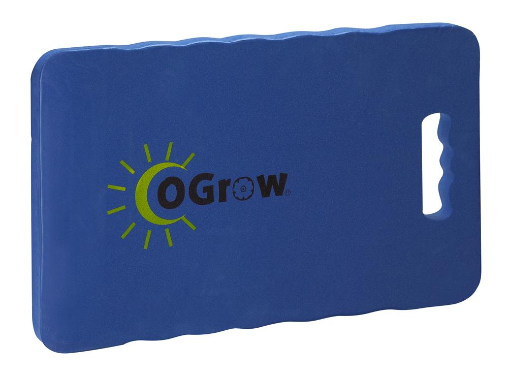"""oGrow® 1"""" Thick Garden Kneeling Pad - Measures 14"""" X 8"""" - Blue"""