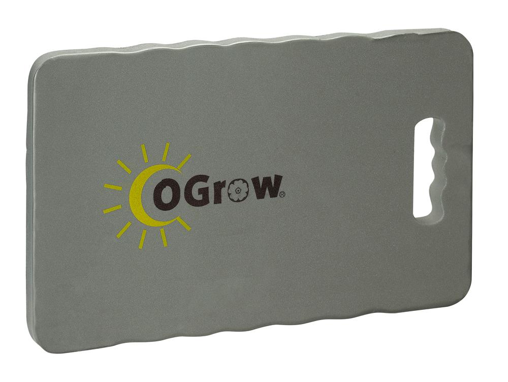 """oGrow® 1"""" Thick Garden Kneeling Pad Measures - 14"""" X 8"""" - Grey"""