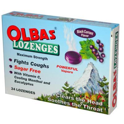 Olbas Lozenge Black Current (1x24 LOz)