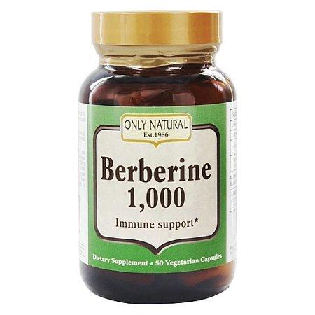 Only Natural Berberine 1000 mg (1x50 Veg Capsules)