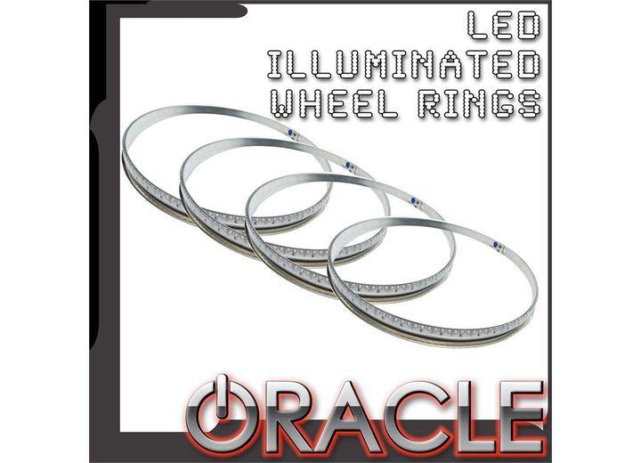 UNIVERSAL UNIVERSAL ORACLE LED ILLUMINATED WHEEL RINGS-COLORSHIFT NO REMOTE-COLO