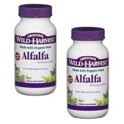 Oregons Wild Harvest Alfalfa Tops (1x90VCAP)