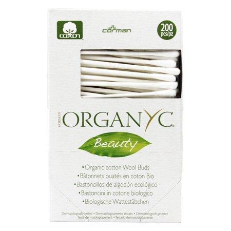 Organyc Beauty Cotton Swabs (1x200 Count)