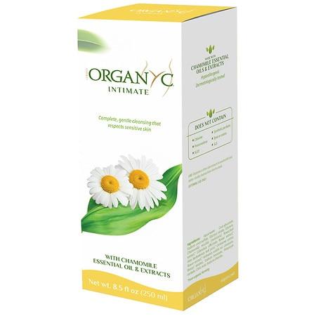 Organyc Feminine Intimate Wash  Natural  85 oz