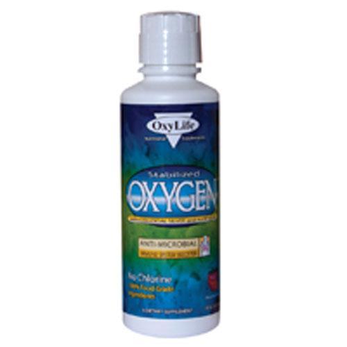 Oxylife Oxygen with Colloidal Silver Plain (16 fl Oz)