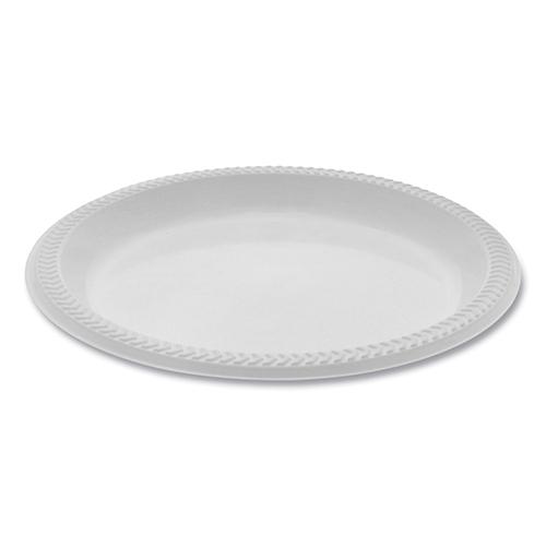 "Meadoware� OPS Dinnerware, Plate, 8.88"" Diameter, White, 400/Carton"