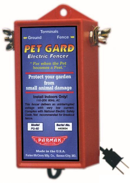 PG-50 110-120V PET GARD
