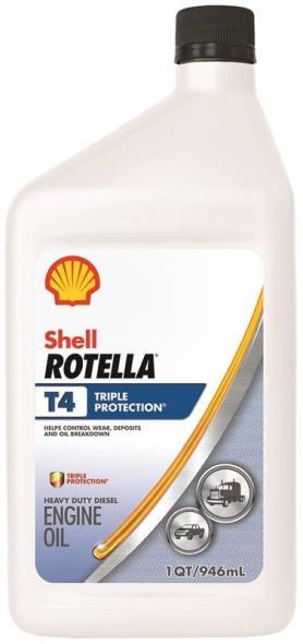 OIL T4 TRI PROT 15W40 CJ4 QT