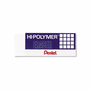 Hi-Polymer Block Eraser, White, 3/Pack