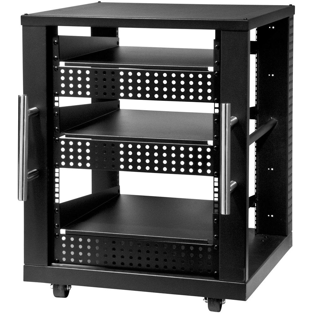 15U AV Component Rack System