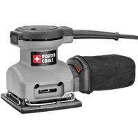 Porter-Cable 380 Corded Sander, 120 V, 2 A, 13500 opm