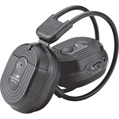 HEADPHONES SWIVEL EARPAD 2 CH.RF 900 MHZ; POWER ACOUSTIK