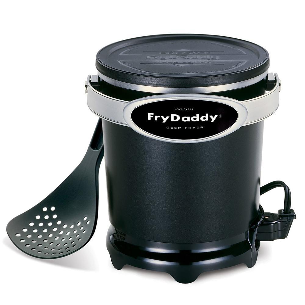 Presto 05420 Black Deep Fryer 4 Cup Frydaddy