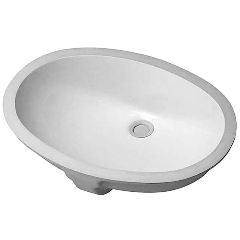 20 X 16 Ceramic Undercounter Round VANITY BASIN White