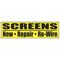 BANNER REPAIR WINDOW/SCREENS