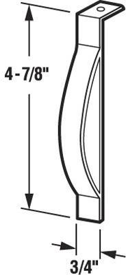 F2537 WOOD WINDOW SASH SPRING