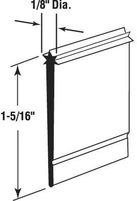 M6023 SHOWER DOOR SWEEP