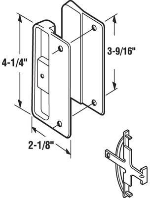 A151 SCREEN DOOR LATCH / PULL