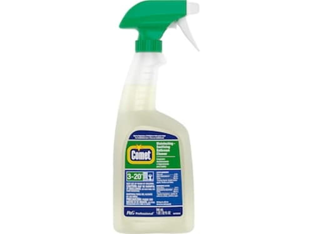 Disinfecting-Sanitizing Bathroom Cleaner, 32 oz Trigger Spray Bottle