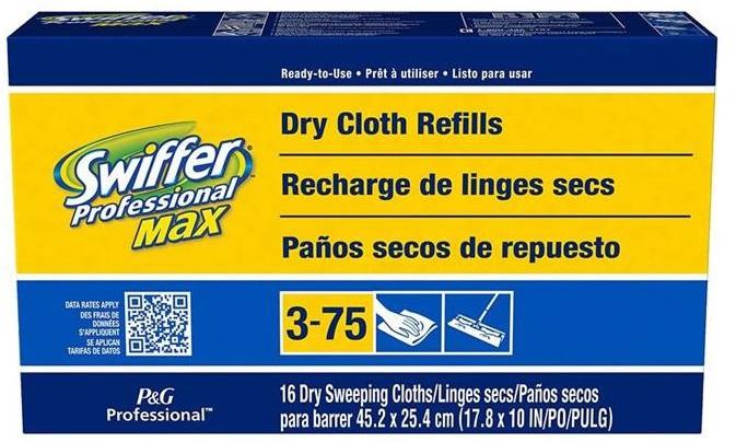 37109 SWIFFER 16CT MAX CLOTHS