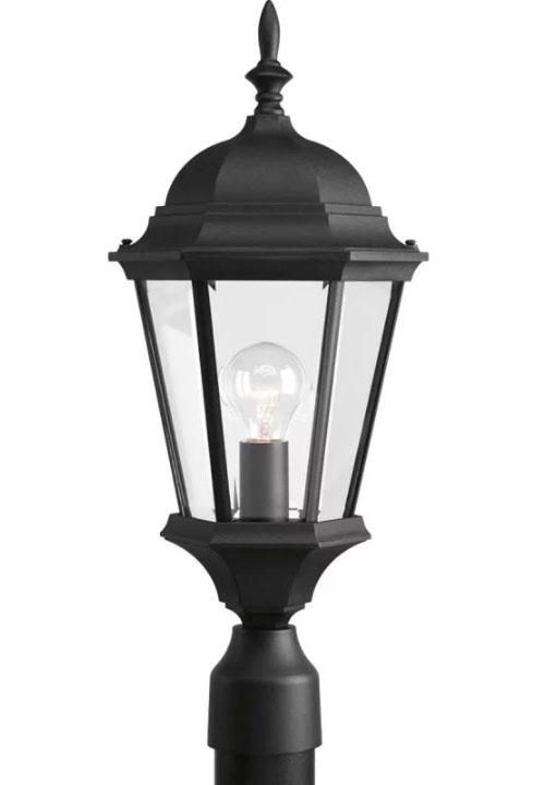 1-100W Medium Post Lantern