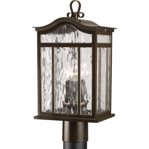 Oil Rubbed Bronze 3 1 60 Watts Medium Post Lantern