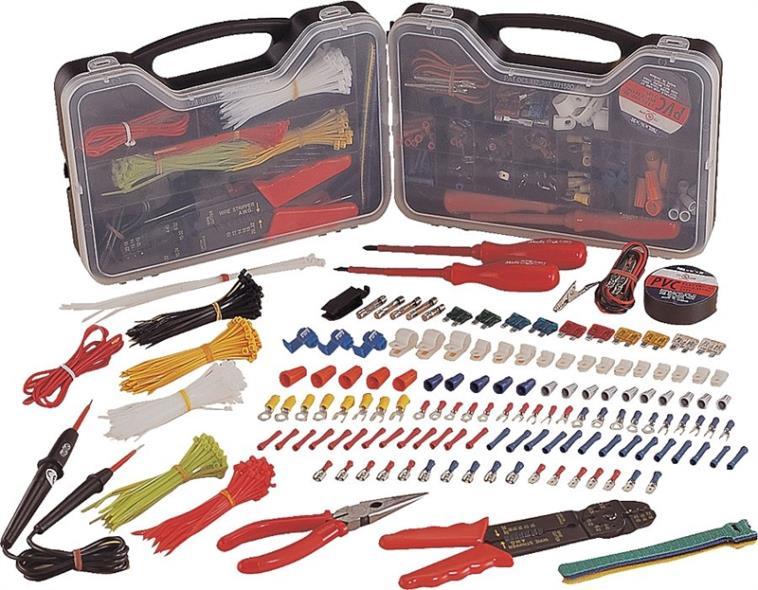 399 Piece Auto Electrical Repair Kit