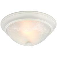 Boston Harbor 41800-WH Ceiling Fixture, 60 W, 2 Lamp