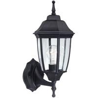 Boston Harbor HL-018B-P- BK Twin Pack Porch Light Fixture, 1 Lamp