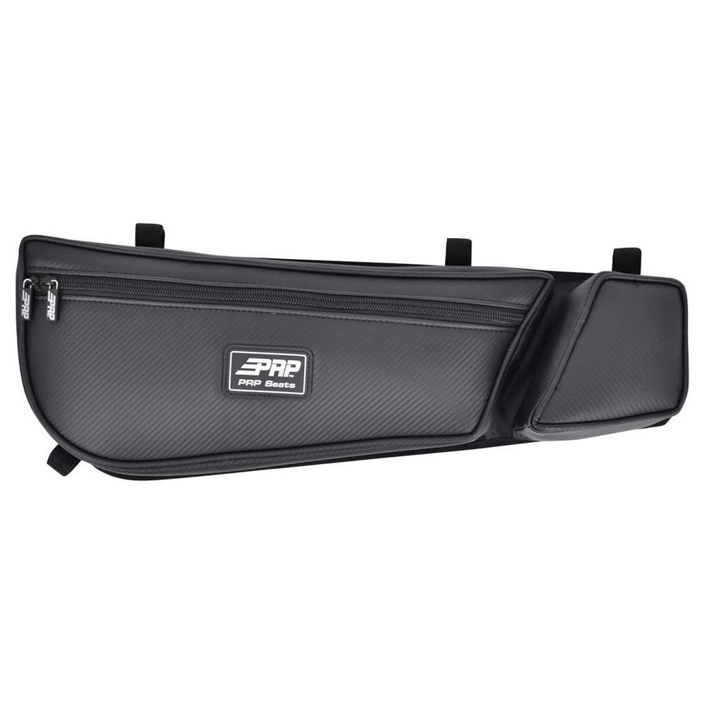 DOOR BAG WITH KNEE PAD FOR CAN-AM MAVERICK X3, BLACK (PAIR)