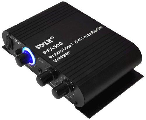 Pyle PFA300 90-Watt Class-T Hi-Fi Stereo Amp