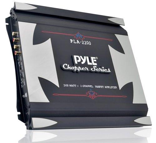 AMPLIFIER PYLE 1400 WATT 2 CH. CHOPPER SERIES