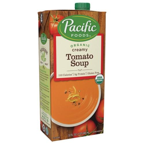 Pacific Natural Creamy Tomato Soup (12x32 Oz)