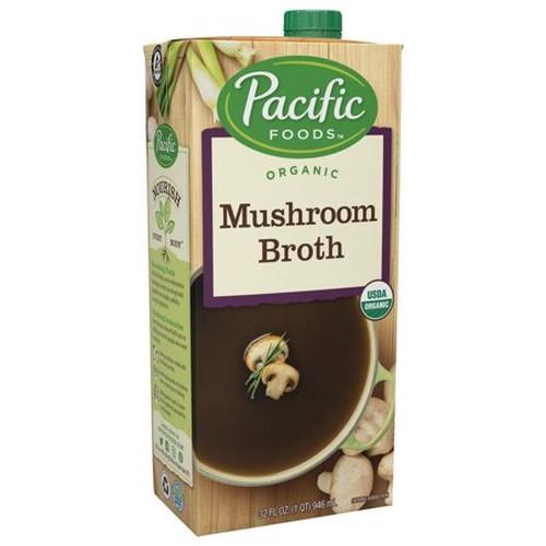 Pacific Natural Mushroom Broth (12x32 Oz)